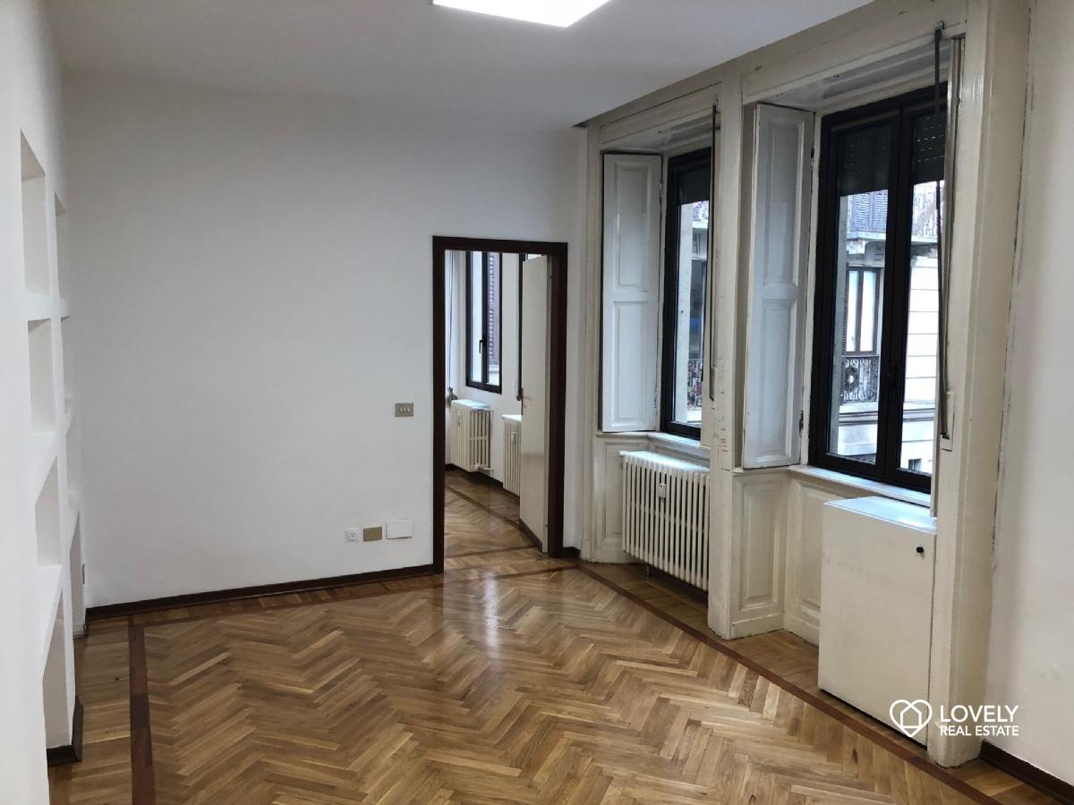 Affitto appartamento milano ampio bilocale arco della for Bilocale non arredato milano